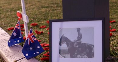 Suburban ANZAC Day tribute, Brisbane. Photo by CONTACT stringer Christabel Migliorini. Follow her on Instagram.