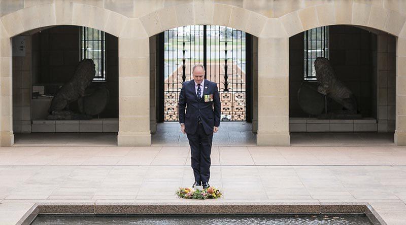 Director of the Australian War Memorial Matt Anderson. AWM photo.