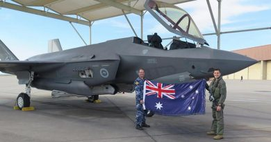 First Aussie F-35 clocks up 1000 hours