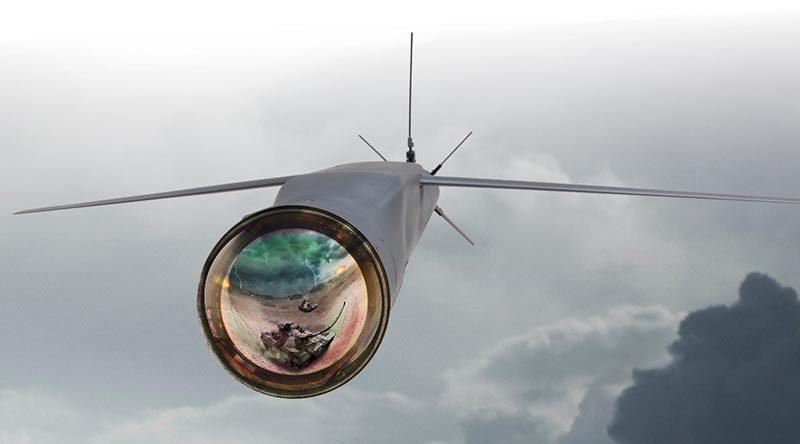 StormBreaker glide bomb. Raytheon image.