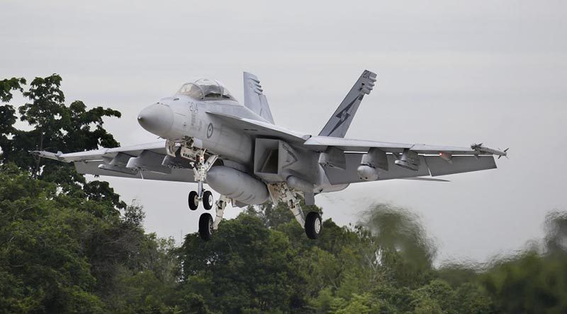 Super Hornet training being trialled in Australia