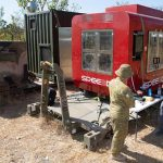 Large 3D metal printer deployed in bush trial