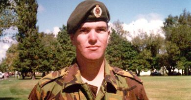 Private Len Manning, who was killed in action in East Timor on 24 July 2000. NZDF photo.