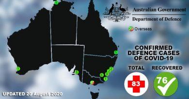 ADF COVID-19 update 20 August 2020