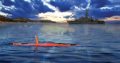 AUV62-AT ant-submarine warfare trainer. Saab image.