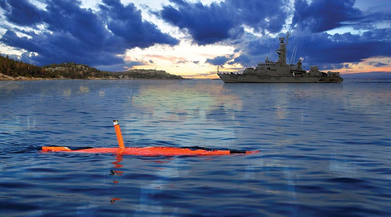 AUV62-AT ant-submarine warfare trainer. Saab image.