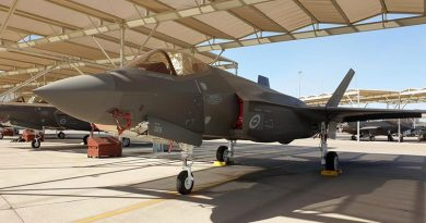 The 30th F-35A Lightning II accepted from prime contractor Lockheed Martin.