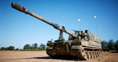 Hanwha K9 Thunder – possibly called Huntsman in Australia. Photo courtesy Hanwha.