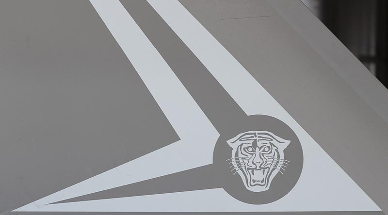 F-35A Lightning II, A35-013 tail art.