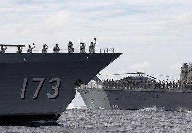 Arunta works closely with Royal Malaysian Navy