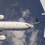 Poseidon takes fuel in the air for the first time