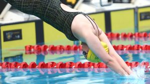 Captain Ruth Hunt in action at theInvictus Games in Sydney. Photo by Brian Hartigan