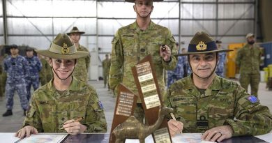 Change of command in the Middle East