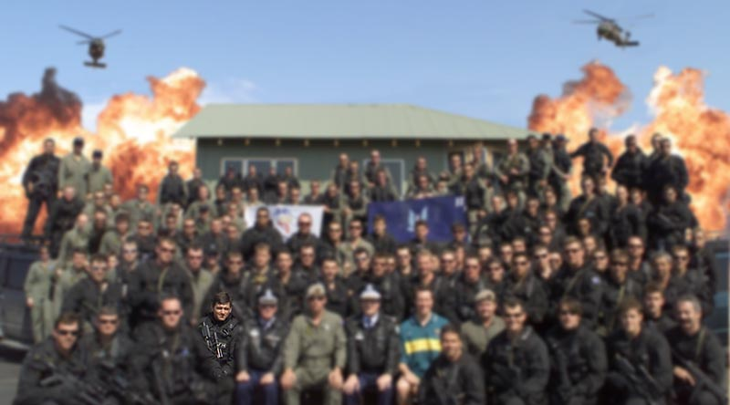 "Former SASR Sergeant Troy Simmonds – who's story was front-cover worthy in CONTACT magazine issue 45 – said on Facebook this week he was ""Proud to have been a member of 2 Squadron, Australian Special Air Service Regiment. Group pic whilst in role of Counter Terrorism team for the 2000 Olympics (me front row 4th from left). Now sadly disbanded due to as yet unproven allegations made against a small group in 2012. Thoughts go out to the hundreds of proud 2 SQN Vets since the 1960s who had nothing to do with these allegations and are deeply saddened and hurt by the dishonorable disbanding of their old Squadron""."