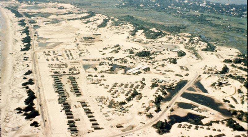 1ATF logistics base at Vung Tau, 3 November 1966. US Army photo.