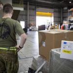 COVID-19 test kits sent to NATO operation