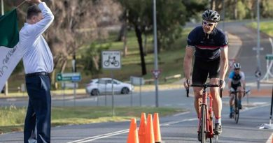 ADF cyclist Major Paul Watson placed 5th in the hill climb event held as part of the Australian Parliament Sports Club's Recognition Sports Festival.