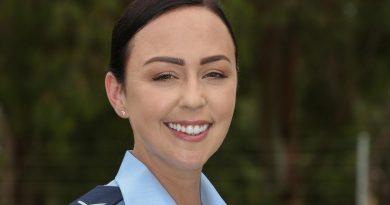 Leading Aircraftwoman Chantelle Bradford is an air surveillance operator at RAAF Base Edinburgh. Photo by Corporal Brenton Kwaterski.