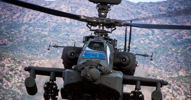 Apache AH-64E – Boeing photo.
