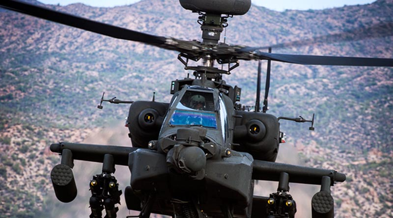 Apache AH-64E – Boeing photo.