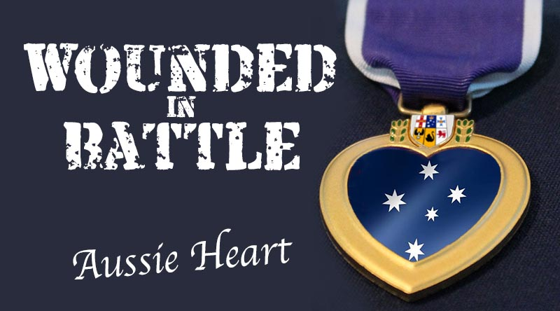 Aussie Heart Medal composite