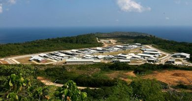 Christmas Island Immigration Detention Centre. Commonwealth copyright.