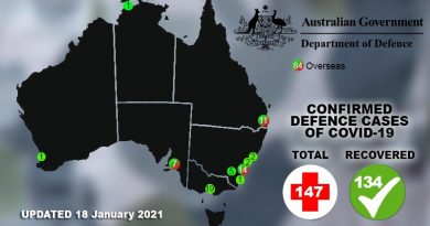 Two more ADF COVID-19 cases 'overseas'