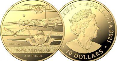 RAAF 100 coin