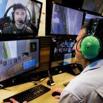 Eye/gaze tracking to improve pilot training
