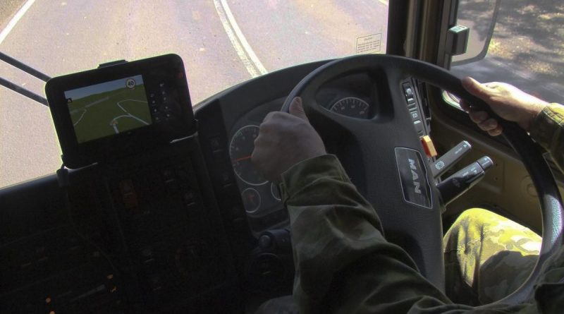 Army has rolled out a system that tracks vehicle speed, location and driver hours.
