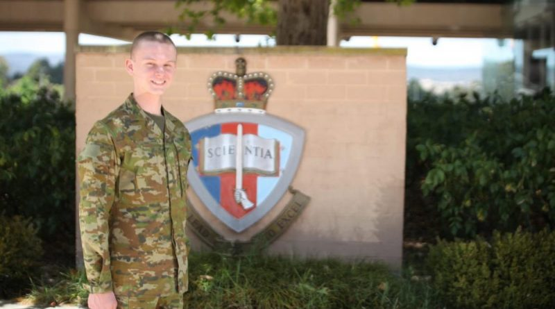 Officer Cadet James Hylton-Cummins has joined the Australian Defence Force Aademy.