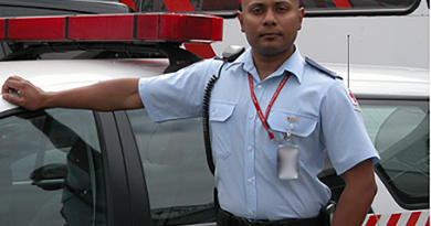 Army reservist Corporal Mohammed Alam volunteers with the Australian Red Cross
