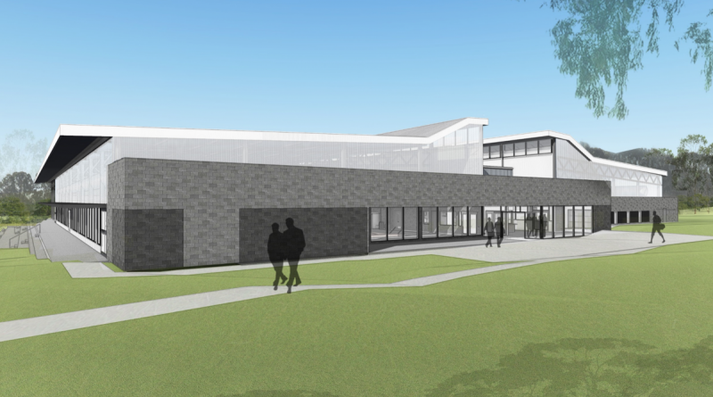 An artist's rendering of the new Puckapunyal Health and Wellbeing Centre