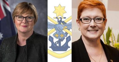 Minister for Defence Linda Reynolds has been admitted to hospital and former Minister for Defence Marise Payne will take over in her absence.