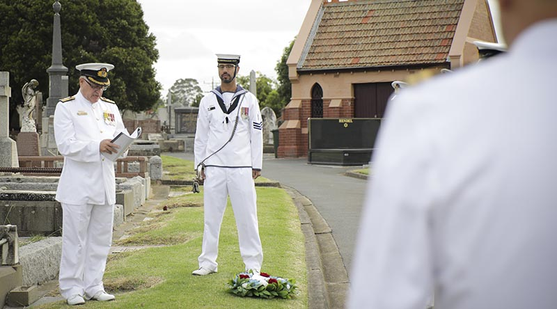 A commemoration service was held at Brighton Cemetery on March 1 to remember Vice Admiral Sir William Rooke Creswell.