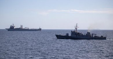 HMA Ships Anzac and Sirius on another regional deployment