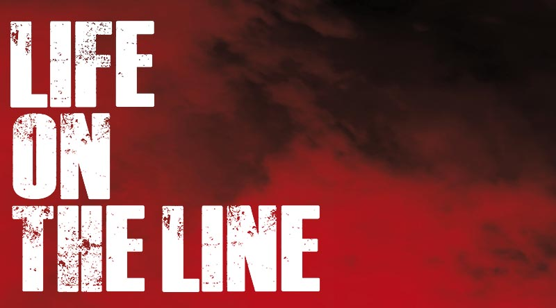 Life on the Line podcast landing page