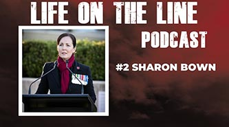 Life on the Line podcast – with Sharon Bown