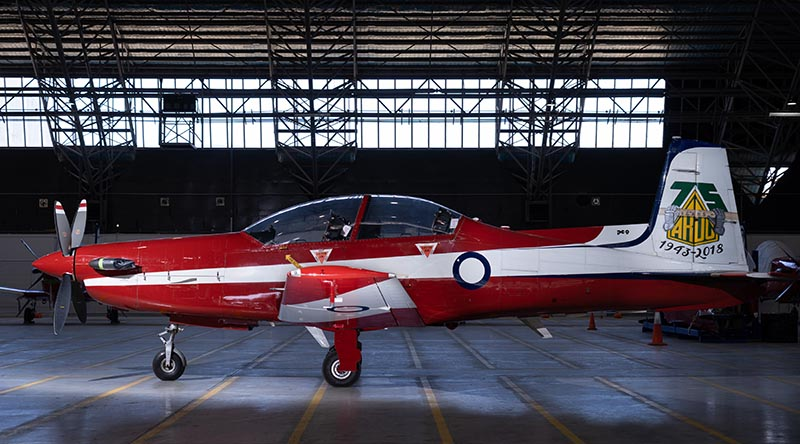 One of eight PC-9A aircraft for sale by on-line auction, with no reserve. Photo supplied.