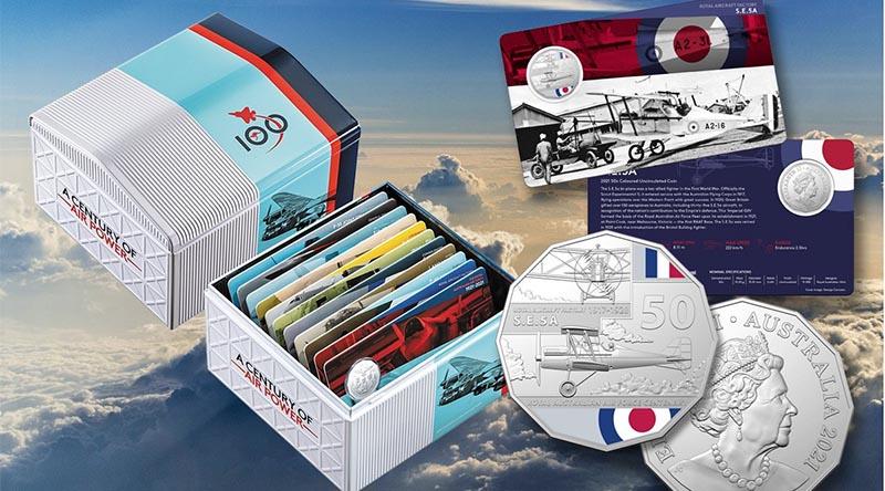 RAAF100 11-coin collectors' set