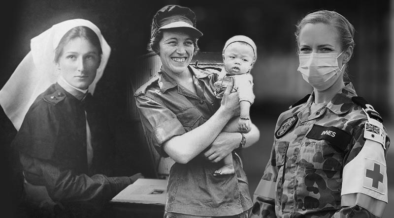 WWI Vietnam and modern nurse composition