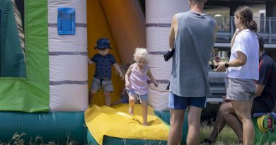 The Gallipoli Barracks Garrison Family Day will have various entertainment options for Defence members and their families. Photo by Corporal Nicole Dorrett.