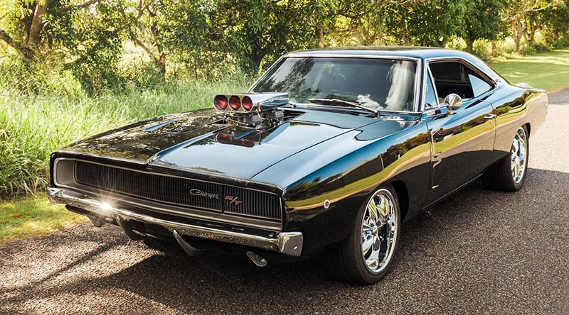 This 1968 Dodge Charger is being raffled by Classics for a Cause, with all profits going to veteran charities.