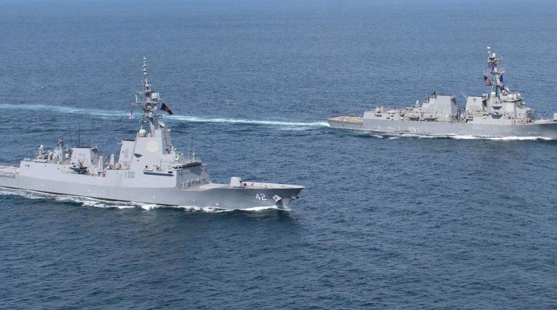 Strengthening partnerships at sea