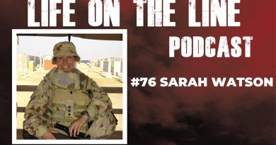 Life on the Line podcast 76 – Sarah Watson, Army intelligence officer