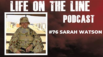 Life the Line podcast 76 – Sarah Watson
