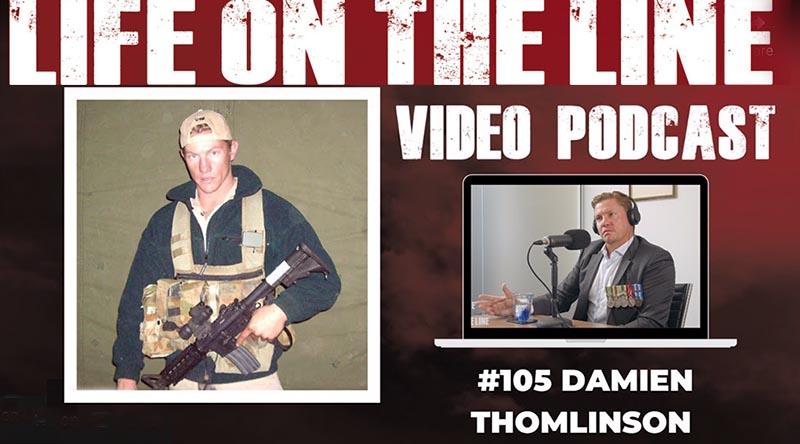Life on the Line's Angus Hordern interviews 2nd Commando Regiment veteran and IED survivor Damien Thomlinson.