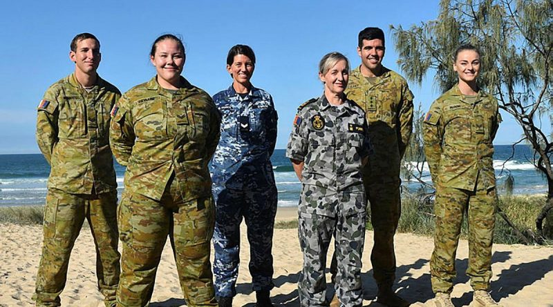 Six ADF members are in the Sunshine Coast working in the Defence Force Recruiting Centre – Maroochydore. Story by Tamara Gunn.