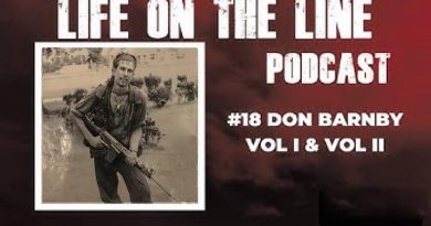 Don Barnby interviewed for Life on the Line podcast