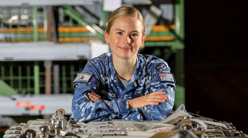 Flight Lieutenant Kaitlin Flynn, of No. 88 Squadron at RAAF Base Williamtown, is an armament engineer. Story by Corporal Veronica O'Hara. Photo by Sergeant David Gibbs.